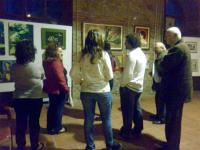 Συνεχίζεται η Έκθεση Ζωγραφικής της Μαρίας Ζιάκα