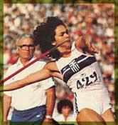Η Σοφία Σακοράφα έχει καταρρίψει 18 φορές το πανελλήνιο ρεκόρ στο ακόντιο