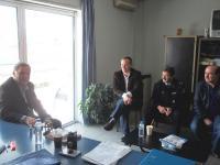 Επίσκεψη  Ηλία Βλαχογιάννη στην Αστυνομική Διεύθυνση Τρικάλων