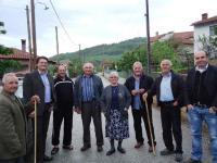 Σε εγκάρδιο κλίμα η περιοδεία του Γιώργου Τσιτσούλα στα Χάσια