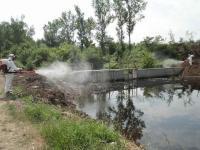 Ψεκασμός σε εστίες αναπαραγωγής των κουνουπιών από την Αντιπεριφέρεια Τρικάλων
