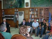Εκπρόσωποι εκπαιδευτικών ινστιτούτων  από τη Λιθουανία, Γαλλία Τσεχία, Φινλανδία, Μ. Βρετανία και Τουρκία στα Τρίκαλα
