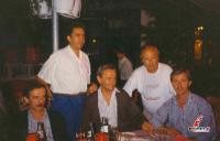 Πάνος Καλογερομήτρος, Γιάννης Γούλας, Ντίνος Κρεβούρης, και Γιώργος Ράπτης