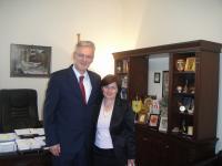 Ευχές για την γιορτή του δέχθηκε ο Δήμαρχος Πύλης Κώστας Κουφογάζος