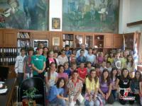 Στον Δήμαρχο Τρικκαίων Χρήστο Λάππα μαθητές των Τρικάλων