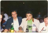 Νίκος Θέος και Πασχάλης Τερζής στην ΟΜΟΡΦΗ ΝΥΧΤΑ το 1985