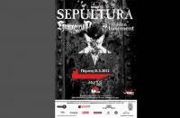 SEPULTURA - Hidden in the Basement Hammercult & Hammercult - Πέμπτη 31 Μαϊου 2012 - Μύλος Club, Λάρισα