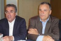 Αργύρης Ντινόπουλος και Ηλίας Βλαχογιάννης