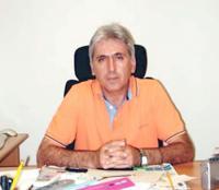 Ο Πρόεδρος της ΝΟΔΕ Τρικάλων, Νίκος Μουζακιάρης