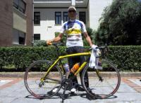 Ελληνικής κατασκευής το ποδήλατο του Στέλιου Βάσκου