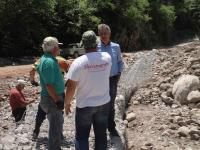 Eργασίες βελτίωσης οδού από Γέφυρα Αλεξίου μέχρι Αθαμανία
