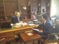 Συνάντηση Χατζηδάκη-Σκρέκα για «επενδύσεις» και Ε-65