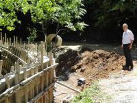 Aσφαλτόστρωση οδού προς Κορομηλιά Καλαμπάκας