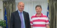 Η Ομοσπονδία Θεσσαλών Ευρώπης επισκέφτηκε τον Υφ. Εξωτερικών κ. Τσιάρα