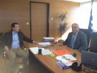 Ο Κ. Σκρέκας στον νέο ειδικό γραμματέα του ΣΔΟΕ