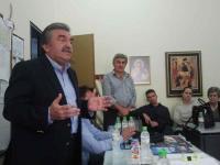 Επίσκεψη υποψηφίων της ΔΑΚΕ σε σχολεία της πόλης για ενημέρωση των συναδέλφων τους