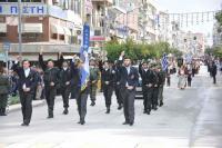 Ολοκληρώθηκε υπό βροχήν προς το τέλος  η παρέλαση στα Τρίκαλα για την επέτειο του ΟΧΙ