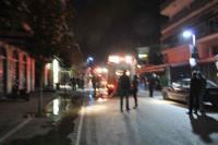 Βίντεο από την πυρκαγιά στην Ασκληπιού τις πρωϊνές ώρες