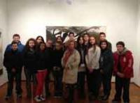 Επίσκεψη του 3ου Γυμν. Τρικάλων στο ίδρυμα Τέχνης και Πολιτισμού Λεωνίδα Μακρή