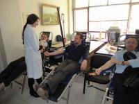 Εθελοντική αιμοδοσία από τον Σύλλογο Υπαλλήλων της Περιφερειακής Ενότητας Τρικάλων