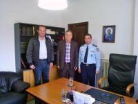 Επισκέψεις του βουλευτή Ηλία Βλαχογιάννη για ευχές