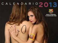 Το ημερολόγιο της Μπαρτσελόνα για το 2013 παρουσιάζει... ενδιαφέρον !