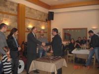 Ο Ιππικός Σύλλογος Τρικάλων έκοψε  την βασιλόπιτα  στην ταβέρνα ''Θράκα'' στα Μεγάλα Καλύβια Τρικάλων