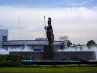 Άγαλμα της θεάς Αθηνάς, στην πόλη Guadalajara του Mexico...