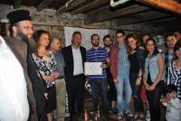 Eντυπωσιακό παρόν του Συλλόγου Νεολαίας Γαρδικίου στη λαογραφική έκθεση