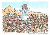 Πως ο Θεός έδωσε τις Δέκα Εντολές στους εβραίους!