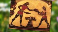 Αρνί στη σούβλα και κοκορέτσι στην Αρχαία Ελλάδα