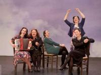 Θεατρική παράσταση με τη Νέα σκηνή Τέχνης  - Πρωταγωνιστεί η Λυδία Κονιόρδου