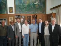 Αντιπροσωπεία του Συλλόγου Αδελφοποιημένων Πόλεων στον Δήμαρχο Τρικκαίων