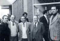 Από αριστερά Θωμάς Καλλιάρας, Λευτέρης Σίμος και Νίκος Παπαπολύζος