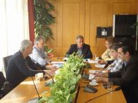 Σύσκεψη Εμπορικού Συλλόγου παρουσία του Αντιπεριφερειάρχη Τρικάλων Χρήστου Μιχαλάκη