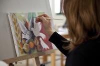 Ξεκίνησαν  στις 8.10.2013 τα μαθήματα στο Εργαστήρι Ζωγραφικής