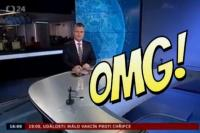Τεράστια ΓΚΑΦΑ για δελτίο ειδήσεων! Έδειξαν ένα πέοs στο κεφάλι του παρουσιαστή! (video)