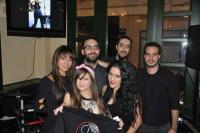 Οι Rock & Lace στο cafe ΝΑΡΚΙΣΣΟΣ παρουσία πολλών fans...