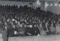 Γενάρης του 1987 στα Τρίκαλα. Ο Γυμναστικός Σύλλογος Τρικάλων γιορτάζει τα 90 χρόνια του