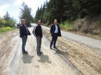 O Κώστας Αγοραστός ζήτησε... επίσπευση εργασιών για συντήρηση και άμεση ασφαλτόστρωση σε χωματόδρομο στο Αρδάνι...!
