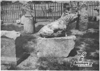 Σπάνιες ιστορικές φωτογραφίες των αρχών του περασμένου αιώνα από το αρχαίο θέατρο Λάρισας