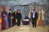 Η αναπαράσταση της γέννησης του Θεανθρώπου στην Φαρκαδόνα με την