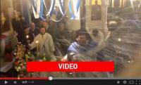 Πήγαν για Αγιασμό και έφυγαν λουσμένοι...! Δείτε το βίντεο