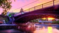 «Α.Ε.» πάνω στην Κεντρική Γέφυρα των Τρικάλων !