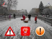 Συναγερμός στα Τρίκαλα. Χιόνισε  Γενάρη μήνα...! (φωτοχρονογράφημα)