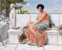 «Τον καιρό της Σαπφούς», έργο του Τζον Γουίλιαμ Γκόντγουαρντ, Μουσείο J. Paul Getty (1904)