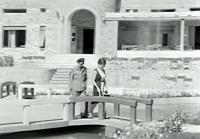 Ακολούθησαν ρομαντικές βολτούλες στο φρούριο, στον Αϊ λιά...