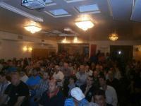 Η πολιτική εκδήλωση της «Χρυσής Αυγής» ξενοδοχείο