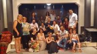 Με τσικουδιές και μαντινάδες γλέντησαν οι Κρητικοί του «Ψηλορείτη» στα Τρίκαλα