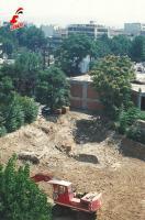 Οι εργασίες για την κατασκευή του πάρκιγκ της οδού Κανούτα έγιναν το 1991